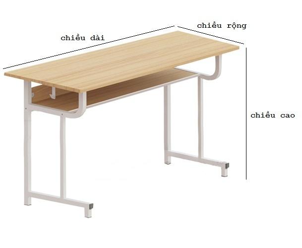 kích thước bàn học